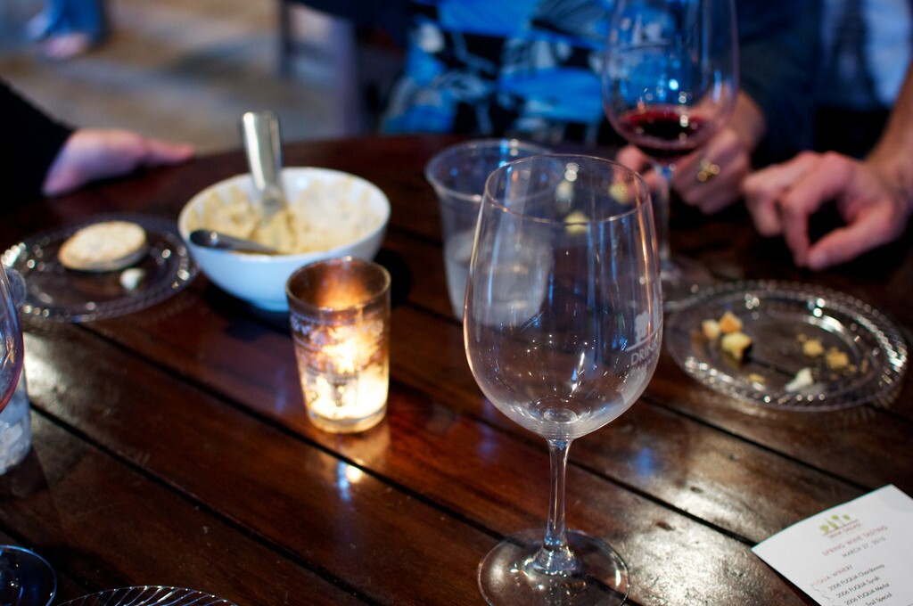 Texas may be the last state you think of for producing wine, but it produced 1.2 million gallons of it in 2012. Above, wine drinkers enjoy wine in Dallas.
