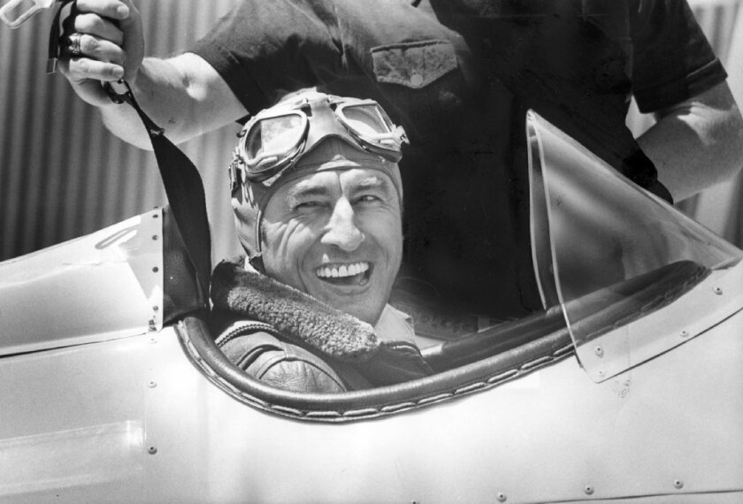 Mira Slovak in the cockpit in 1976. After flying a Czech Airlines DC-3 to freedom in 1953, he wound up in the U.S. and became a crop-duster, a daredevil aerobatic pilot and a national champion speedboat racer.