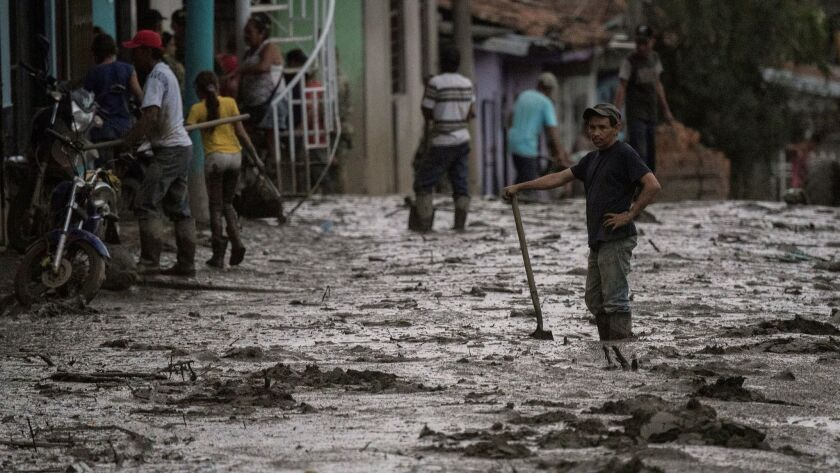 COLOMBIA-WEATHER-MUDSLIDE