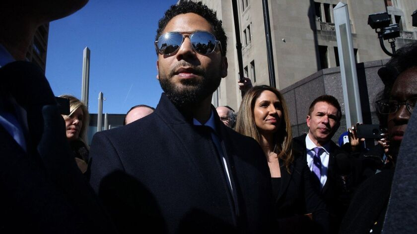 "Charges against ""Empire"" actor Jussie Smollett were dropped in late March. Smollett had been accused of lying to police about being the victim of a racist, antigay attack in January."