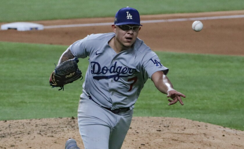 Julio Urías could give the Dodgers an advantage in starting pitching in Game 4 of the World Series.