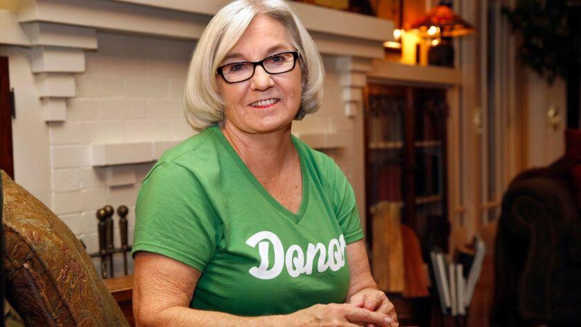Diane Brockington, founder of Women Encouraging Living Donation (WELD), and director of the John Brockington Foundation.