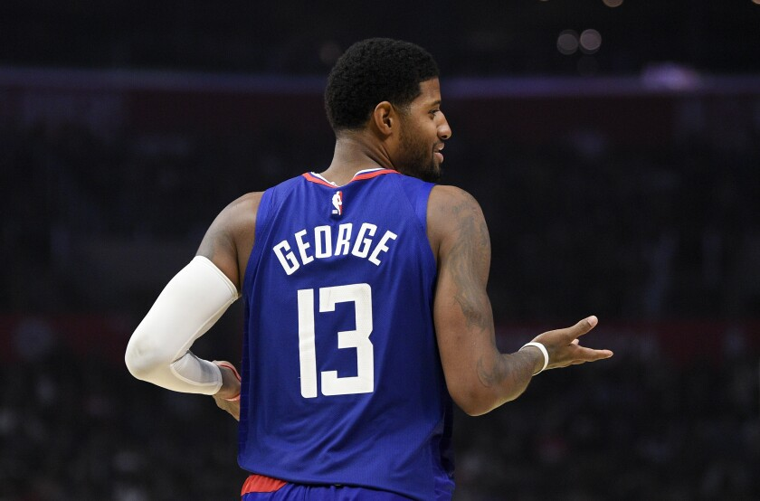 Paul George dominates as Clippers crush Hawks without Kawhi Leonard