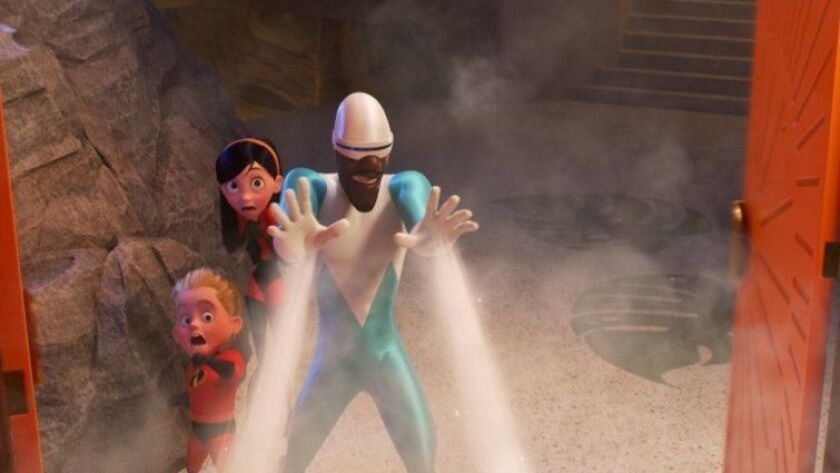 "Frozone is back in ""Incredibles 2,"" cooler than ever and lending a helping hand when the Parrs need him most."