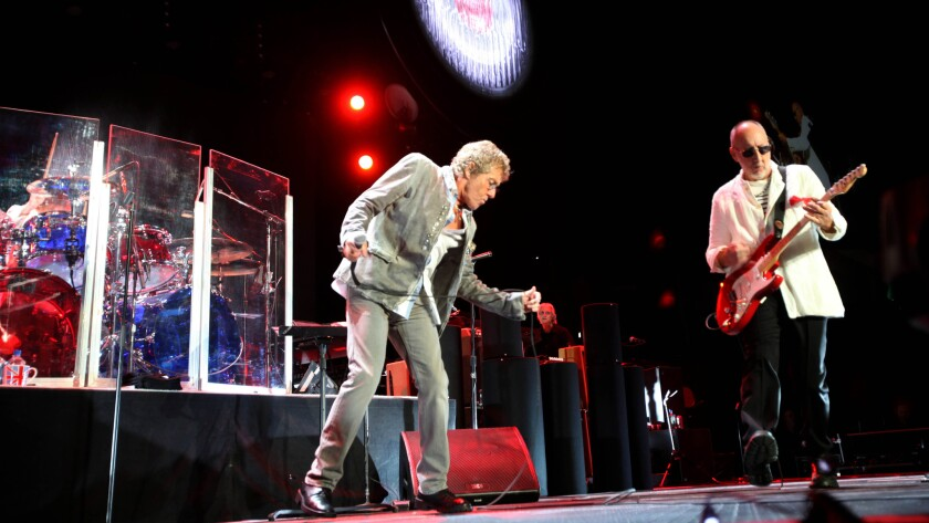 "Roger Daltrey and Pete Townshend of The Who; the band's unfinished ""Lifehouse"" is one of the records written about in ""The Greatest Albums You'll Never Hear."""