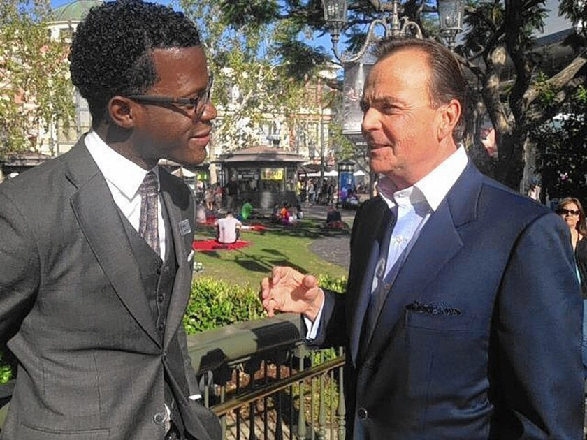 Anthony Henry and Rick Caruso