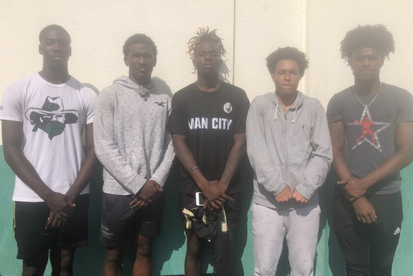 Column: Narbonne receivers are a group to reckon with