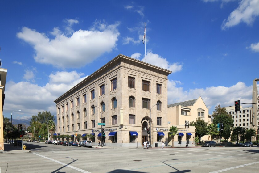 The Star-News Building on Colorado Boulevard in Pasadena dates to 1925.