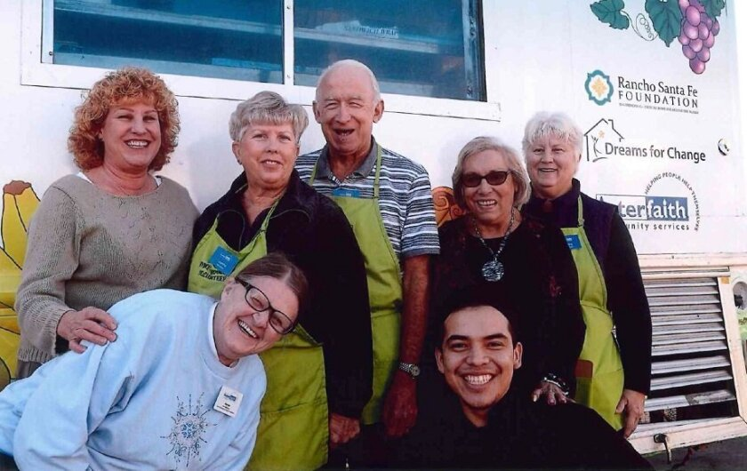 The Thyme Together food truck serves nutritious lunches to seniors five days each week (except holidays) at four mobile home parks and one faith center in San Marcos, Oceanside and Vista.