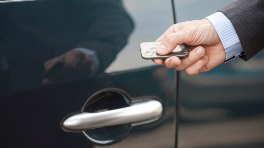 Unlocking a mystery about rental car keys - Los Angeles Times