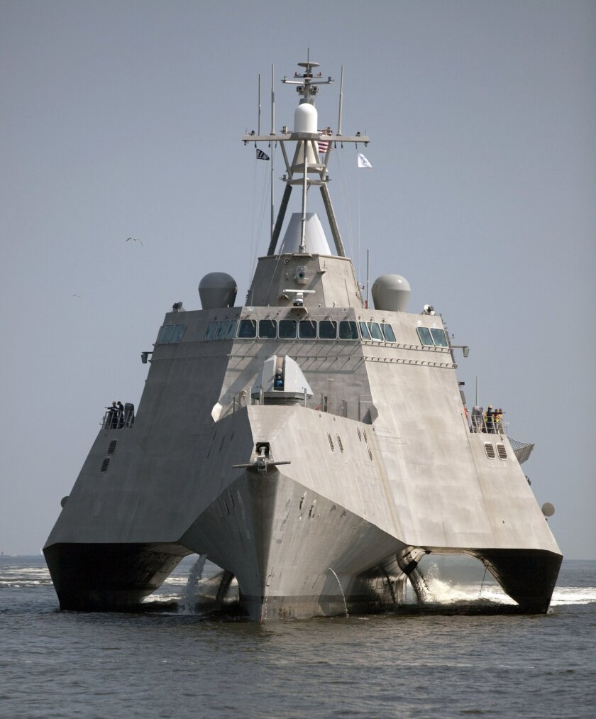 The Navy littoral combat ship Independence