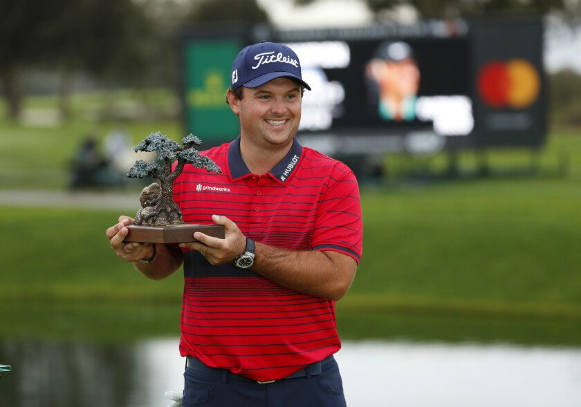 Patrick Reed won the Farmers Insurance Open by five strokes.