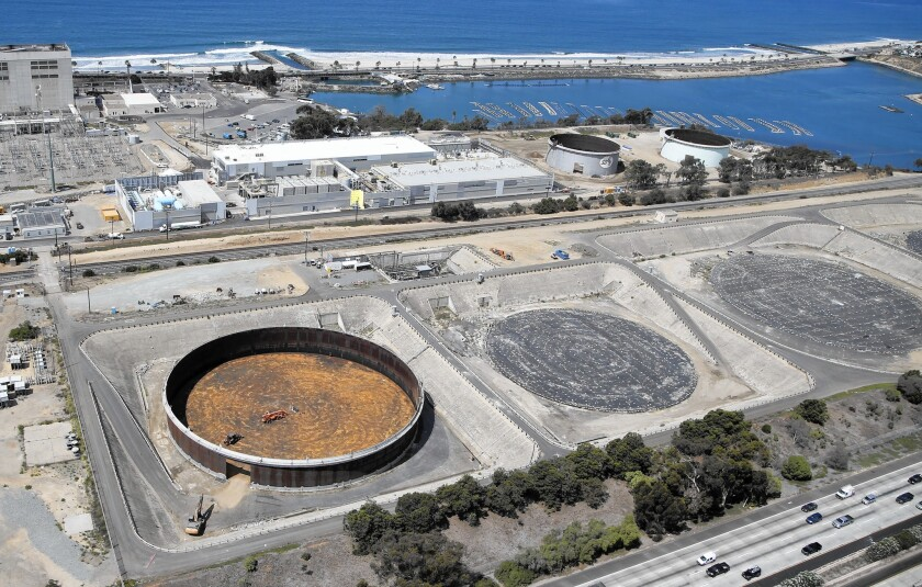 The desalination plant in Carlsbad in September.