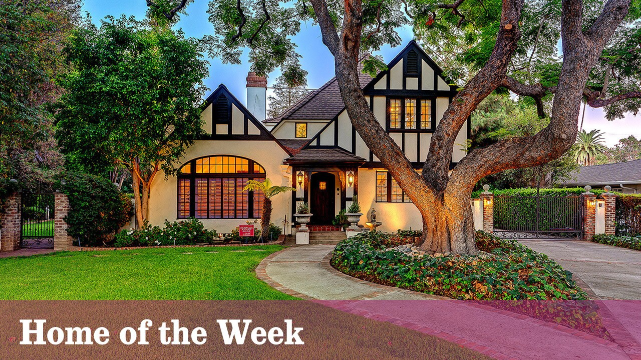 The English Tudor Revival-style home was built in 1927 by Arthur A. Tennyson, a master builder of both homes and ships who emigrated to the U.S. in 1881.