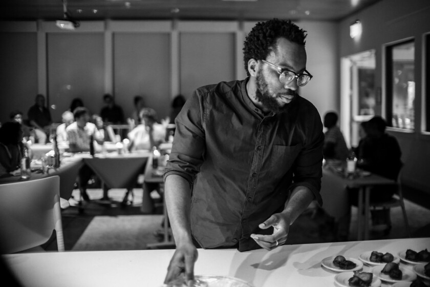 Nigerian chef Tunde Wey will be in L.A. cooking at two pop-up dinners next week.
