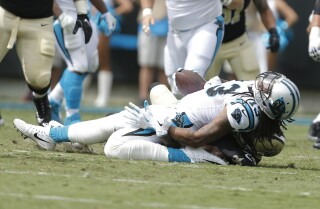 Kelvin Benjamin out for today, not for season