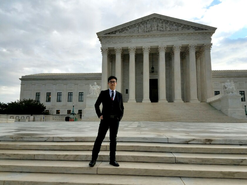 """Former San Diegan Simon Tam will be at Grossmont College on Oct. 16 for a multimedia presentation based on his new book, """"Slanted: How an Asian American Troublemaker Took on the Supreme Court."""""""