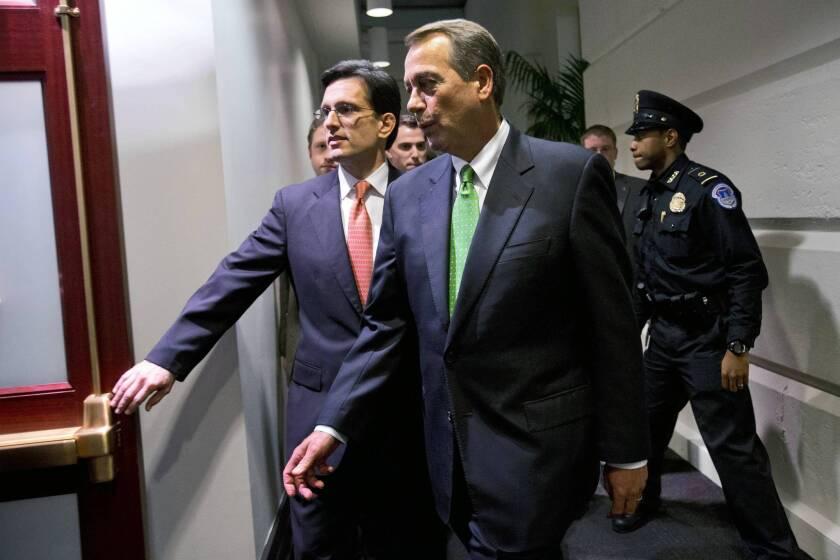John Boehner is battered but likely to retain speakership