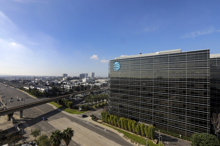 An AT&T facility in El Segundo.
