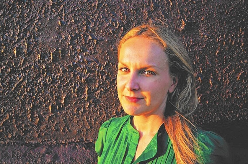 """Born in Poland, author Karolina Waclawiak came to the United States with her family when she was 2 and grew up in Connecticut towns much like the one where her novel """"The Invaders"""" takes place."""