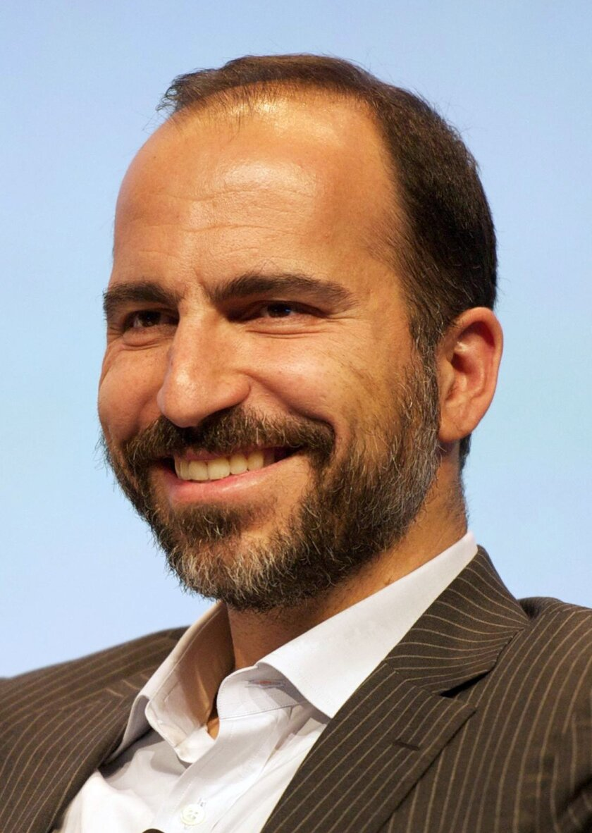 This photo provided by Expedia, Inc. shows CEO Dara Khosrowshahi. Khosrowshahi was one of the highest-paid CEOs for 2015, as calculated by The Associated Press and Equilar, an executive data firm. (Expedia, Inc. via AP) MANDATORY CREDIT