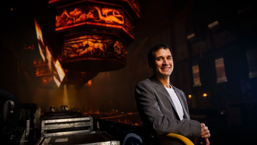 """Game of Thrones"" composer Ramin Djawadi. (Marcus Yam / Los Angeles Times)"