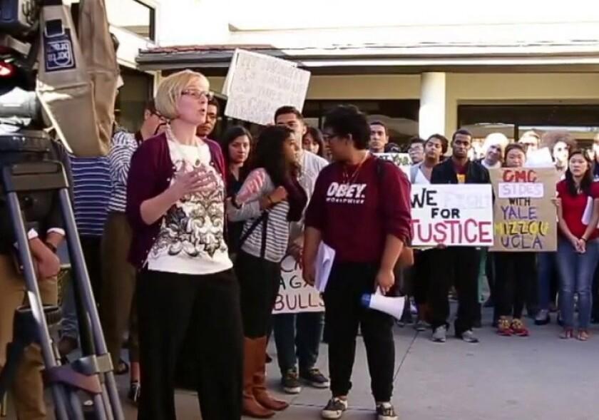 Claremont McKenna student protestors receive death threat