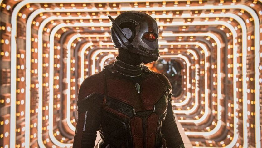 "Paul Rudd as Ant-Man in ""Ant-Man and the Wasp."""