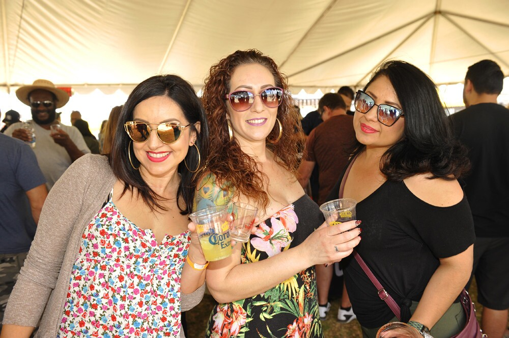 It was a beautiful San Diego day at the Tequila & Taco Music Festival at Embarcadero Marina Park South on Saturday, April 21, 2018.
