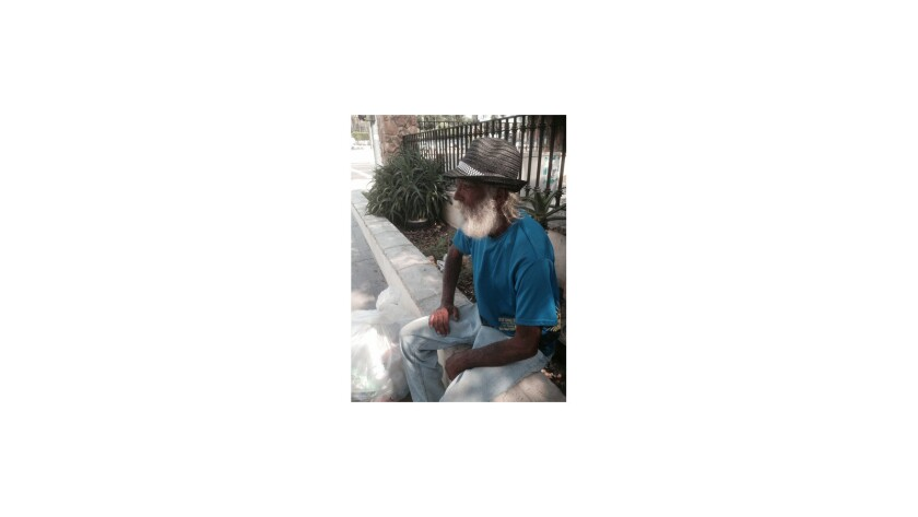 Homeless man displaced by city encampment cleanup downtown