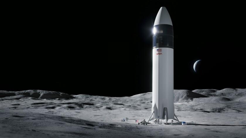 Bezos pierde apelación ante planes de alunizador para NASA