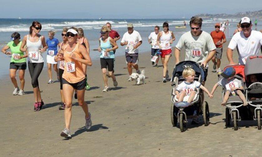 Participants in Jake's 30th Annual Fun Run