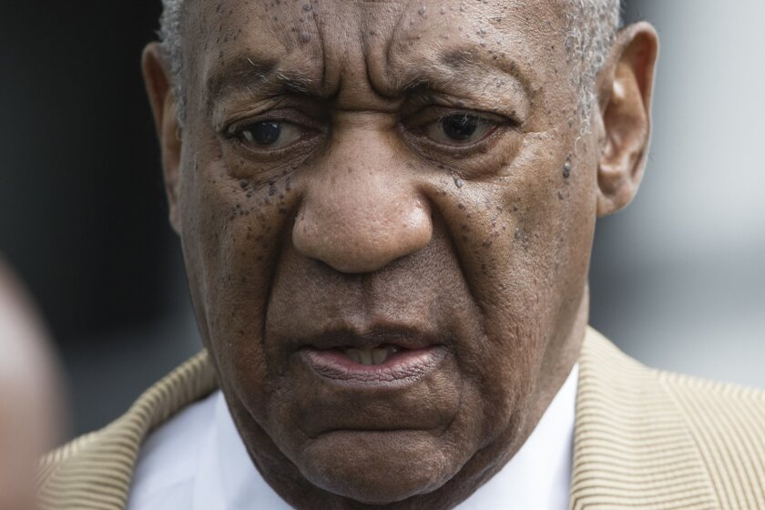 FILE - In this July 7, 2016 file photo, Bill Cosby leaves a pretrial hearing in his criminal sex-assault case at Montgomery County Courthouse in Norristown, Pa. Cosby has replaced the law firm overseeing civil litigation around the country linked to accusations he drugged and molested women.  Liner
