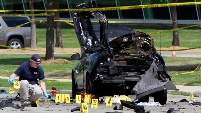 Two Gunmen Killed Outside Mohammed Cartoon Contest Event In Texas
