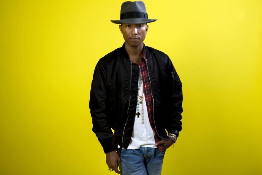 La estrella Pharrell Williams anuncia el lanzamiento de la iniciativa Black Ambition.