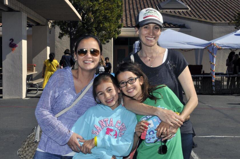 Guadie Bertino and Ariana, Mia and Shelley Saban
