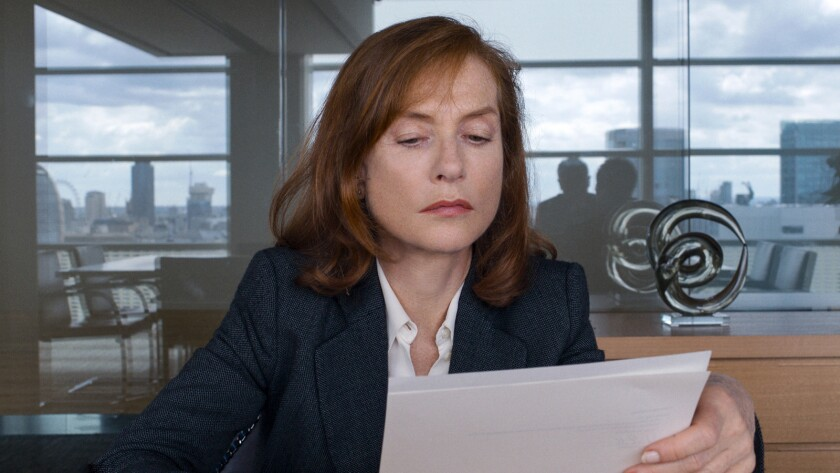 """Isabelle Huppert in the movie """"Happy End."""""""