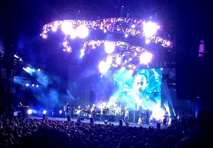 Dave Matthews Band performs at the Sleep Train Amphitheatre in Chula Vista on Sept. 6