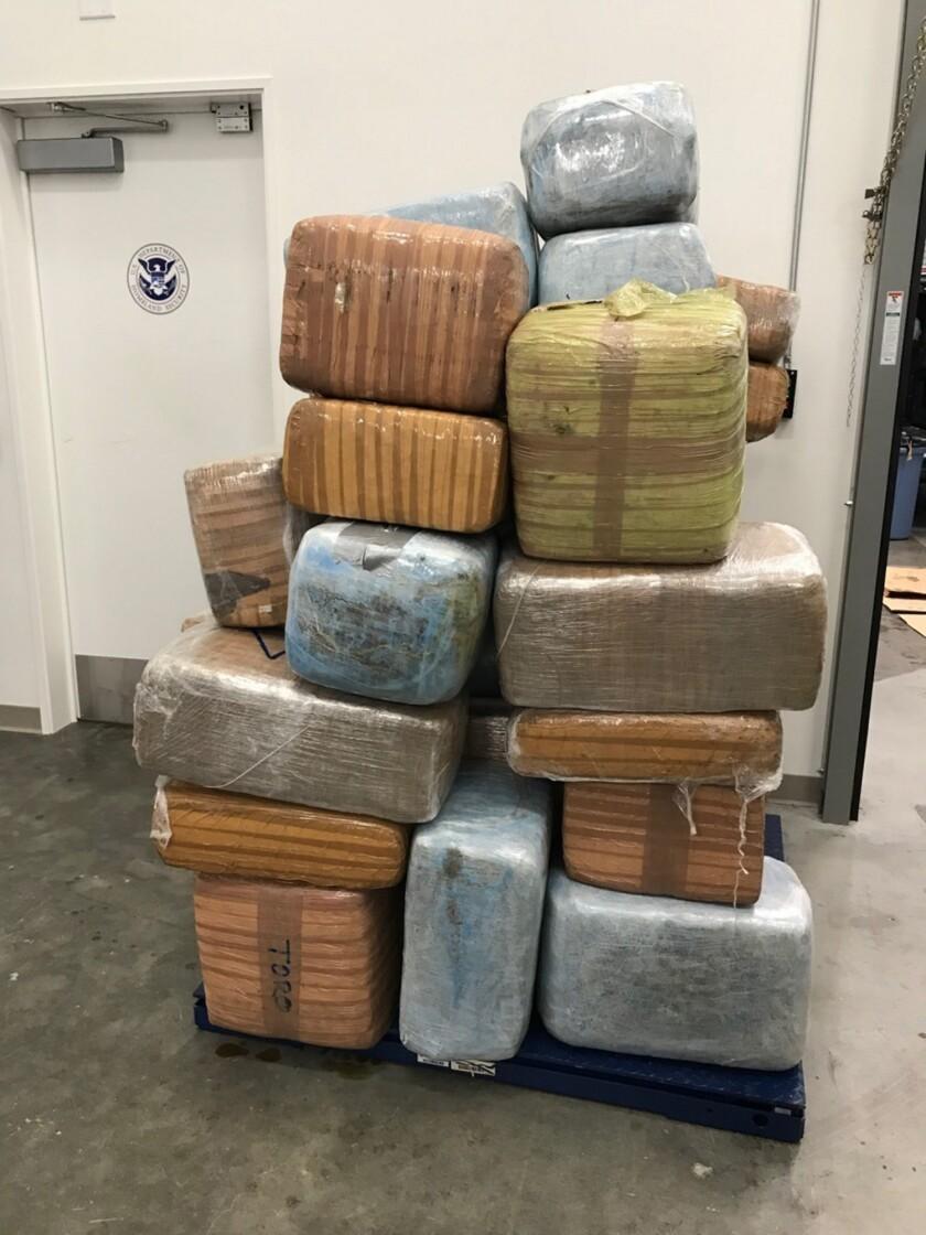 Marijuana seized by Coast Guard