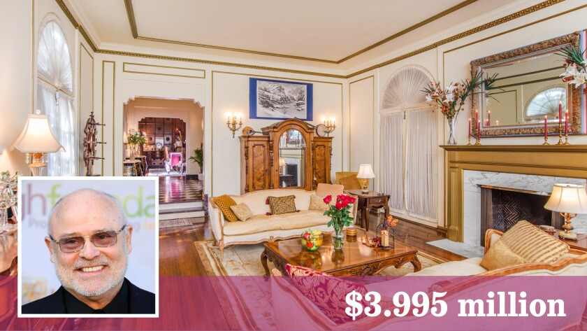 Vocal coach Seth Riggs, who worked with such stars as Michael Jackson and Madonna, has listed his Hancock Park home for sale.
