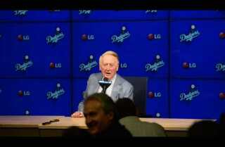 Vin Scully's Final Press Conference Part Three (of Four)