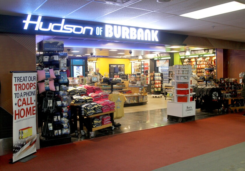 Bob Hope terminal shops, which had been operated by Paradies Shops Inc. from early 1994 until last May, have been converted into Hudson News locations.