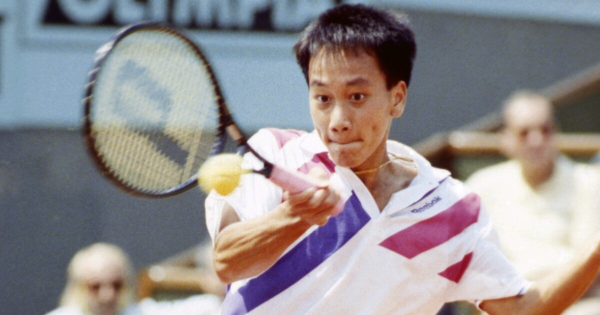 Column: San Diego 'such a great move' for French Open winner Michael Chang