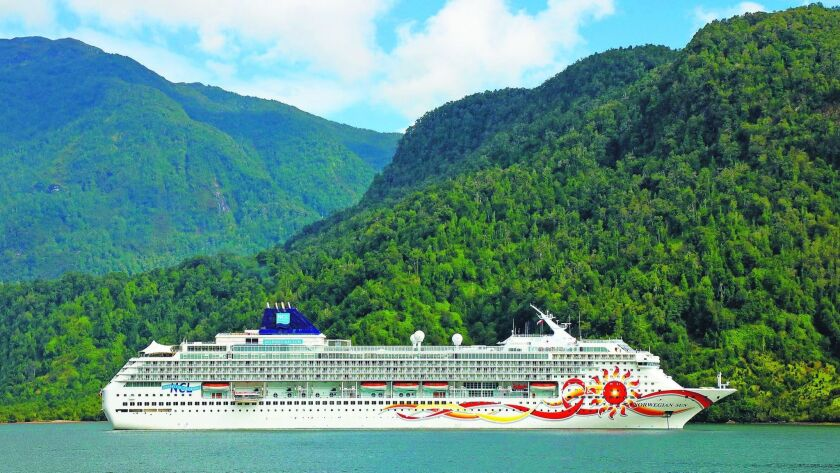 The Norwegian Sun cruise of South America began in Buenos Aires and ended in Valparaiso, Chile. It i