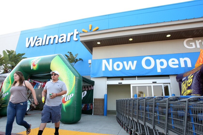 New Walmart in Burbank