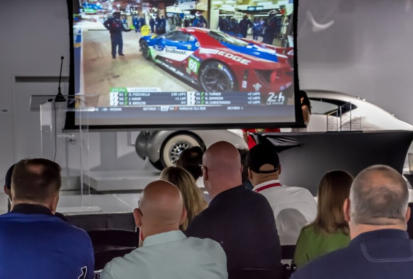24 Hours of Le Mans viewing party