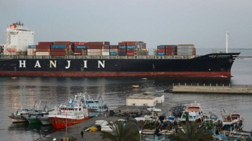 Es la mayor quiebra en la historia naval mundial.