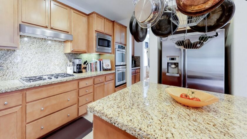 Stone counter tops have become the expected kitchen standard for buyers. Credit: Purplebricks