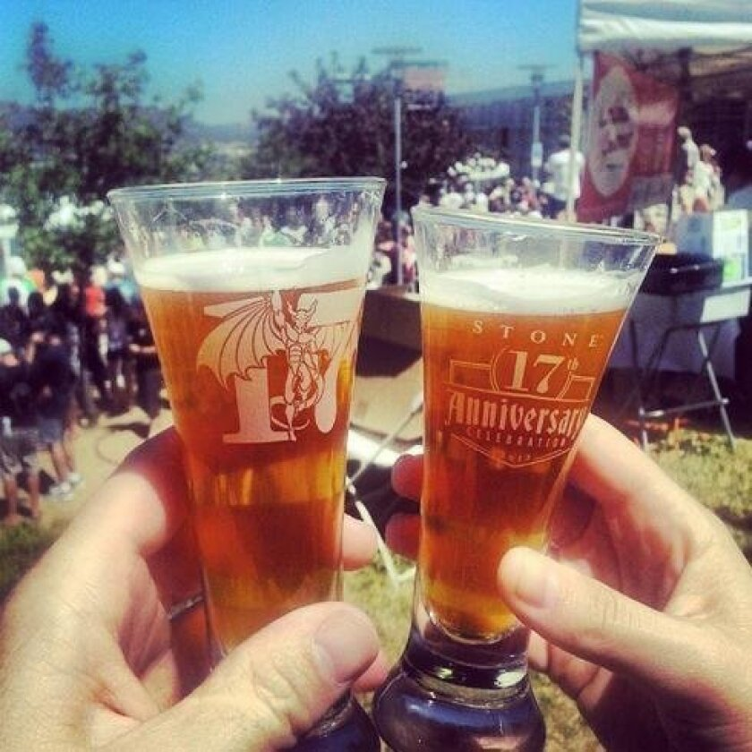 Stone Brewing's 17th anniversary