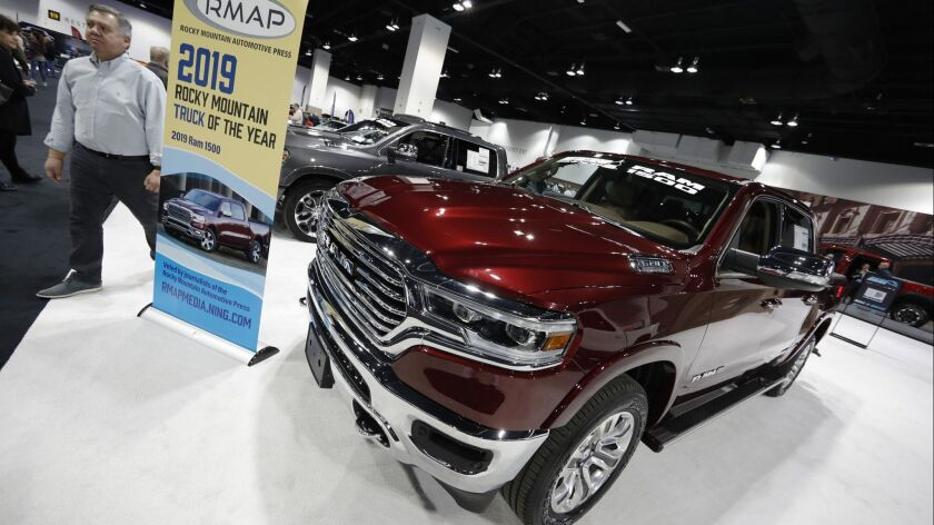 2019 Ram pickup
